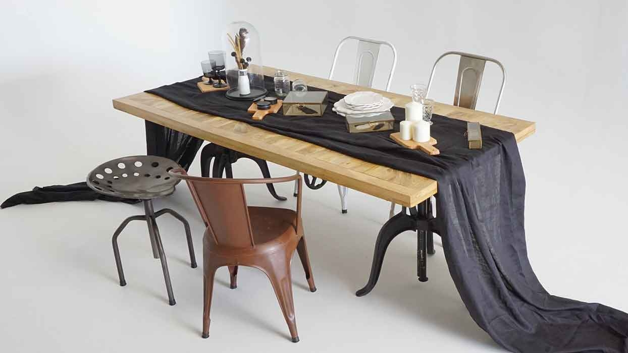 French Industrial Dining